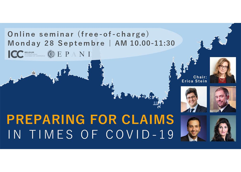 Webinar - Preparing for claims in times of Covid-19